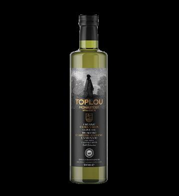 Bio-Sitia, Toplou Monastery - Huile d'olive extra vierge BIO, 500 ml